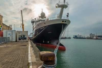 RRS James Cook during JC130 / IODP357