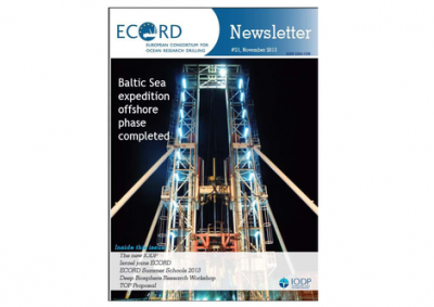 ECORD Newsletter, #21  (32 pages)