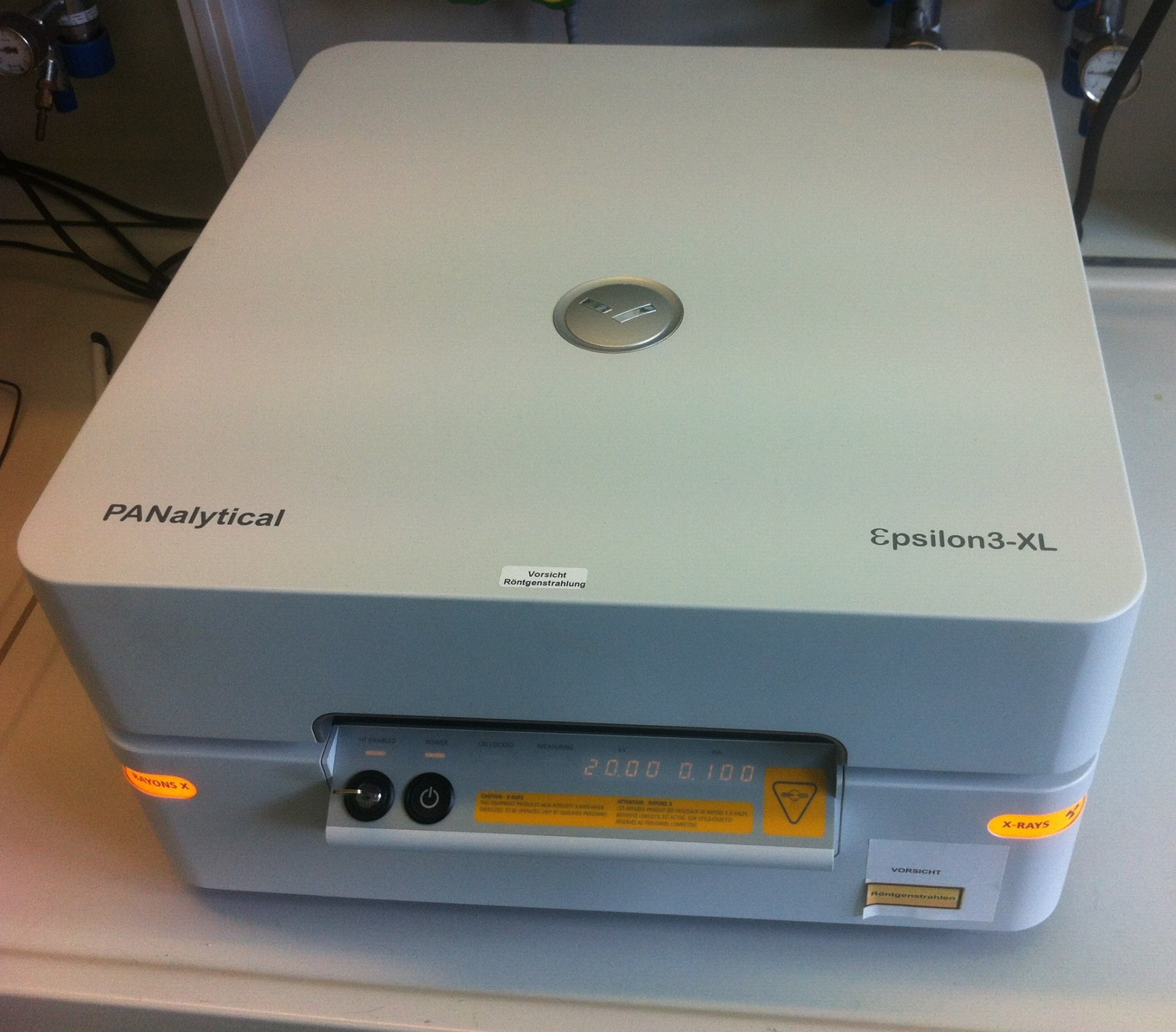 Panalytical epsilon 3XL XRF