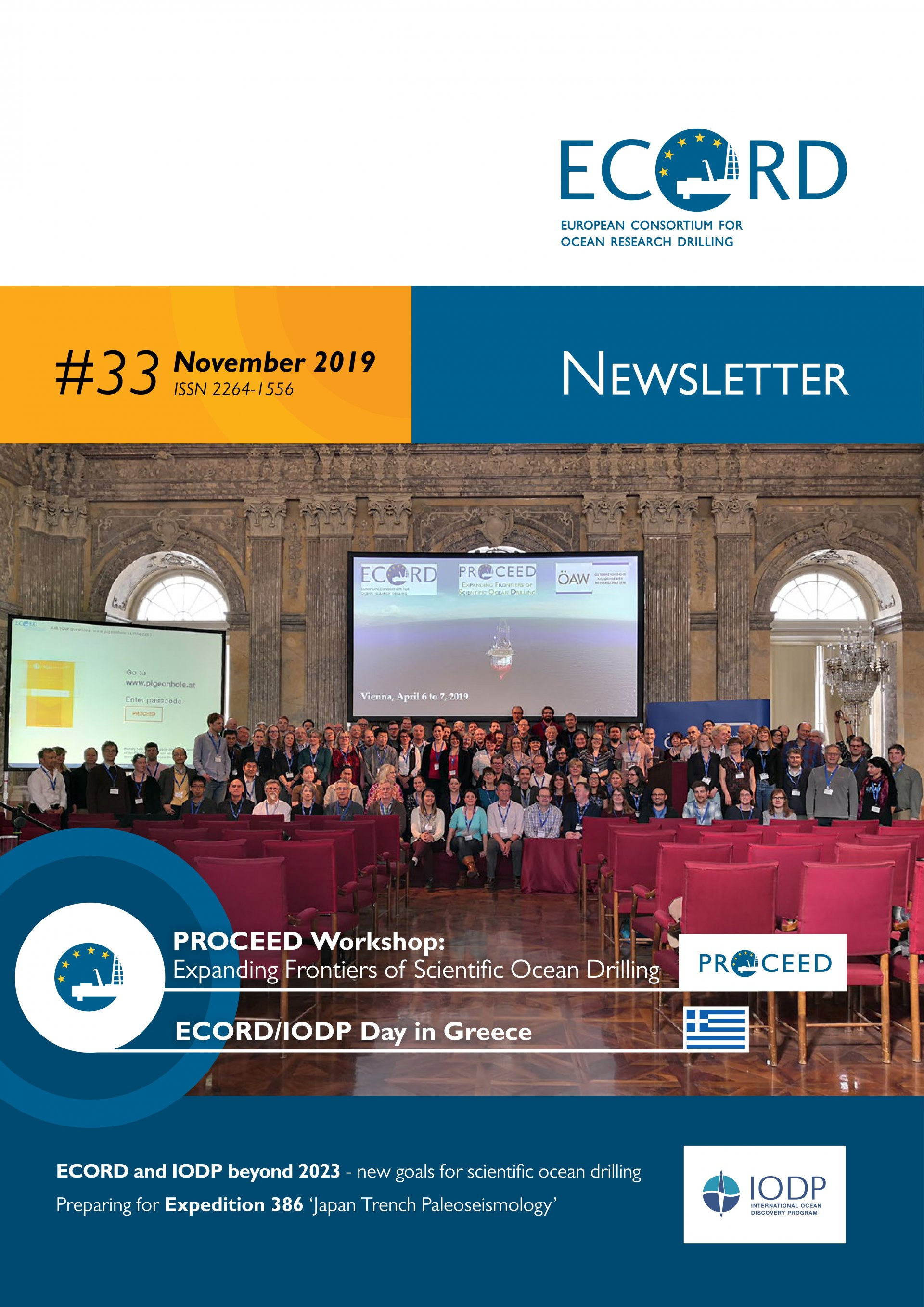 cover ECORD newsletter 28