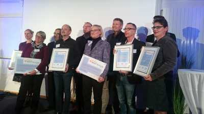 At the MARUM, Bremen's MINT-Actors and MINT-Schools were awarded. Photo: MARUM - Center for Marine Environmental Sciences, University of Bremen