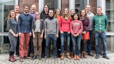 ArcTrain and GLOMAR graduates 2017. Photo: MARUM - Center for Marine Environmental Sciences, University of Bremen; V. Diekamp
