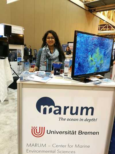 Sri Nandini at the AGU 2017