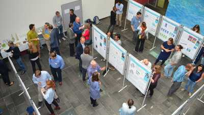 ArcTrain members presented their research results at the annual meeting of the Research Training Group. Photo: MARUM, University of Bremen