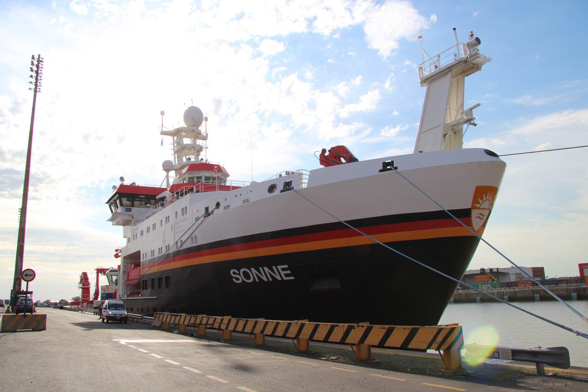 Ship's log SONNE SO260
