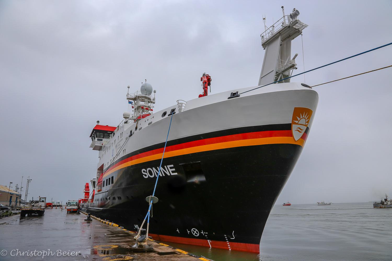 Ship's log SONNE SO263
