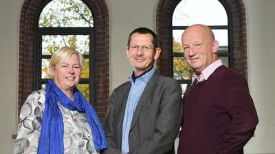 New Directorate (from left): Monika Rhein, Michael Schulz and Achim Kopf. Photo: MARUM – Center for Marine Environmental Sciences, University of Bremen; D. Ausserhofer