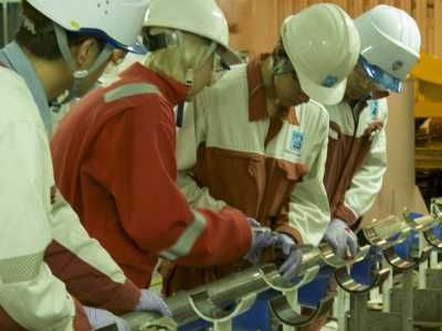 Gas sampling during IODP Exp. 370