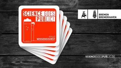 Logo Science goes PUBlic