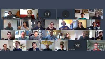International research in times of Corona: For the fourth annual SLATE workshop participants met virtually. Photo: MARUM