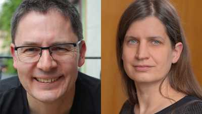 Thomas Felis (MARUM) will coordinate the new DFG Priority Programme. Miriam Pfeiffer (Christian-Albrechts-Universität zu Kiel) will take over from the second programme phase. (Photo: MARUM - Center for Marine Environmental Sciences, University of Bremen, T. Felis; J. Haacks/ Uni Kiel)