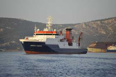 RV Maria S Merian during MSM15/3