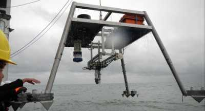 Recovery of the MARUM seafloor lander LANCE