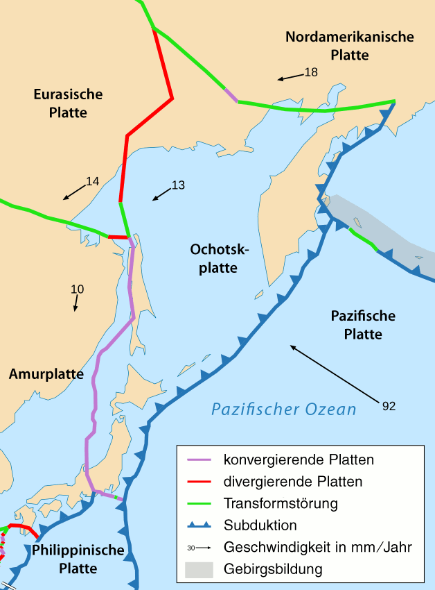 Turbulences in the deep figure 1 the location of the tectonic plates off japan gumiabroncs Images